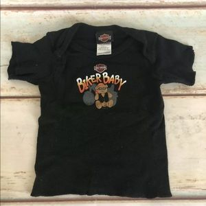 Harley Davidson Infant Biker Baby Graphics T Shirt